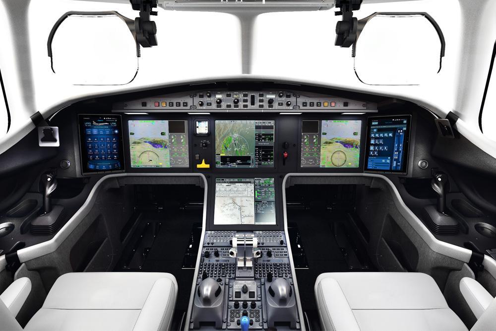 самолет Dassault Falcon 6X