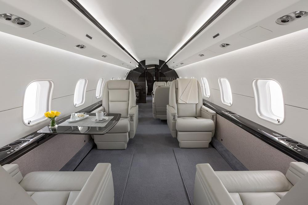 самолет Bombardier Global 6000