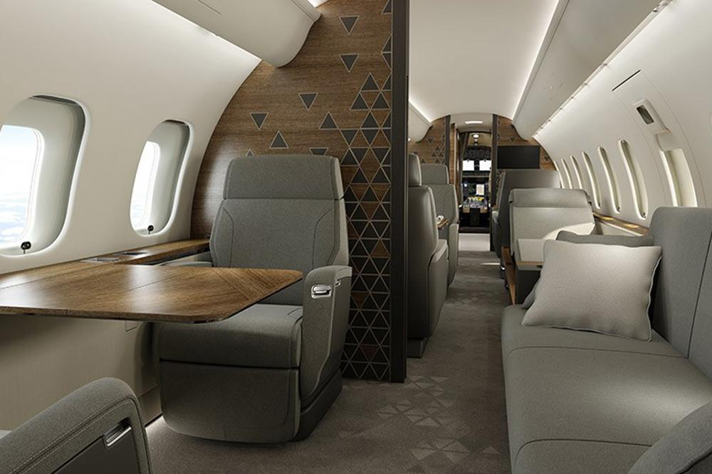 самолет Bombardier Global 5500