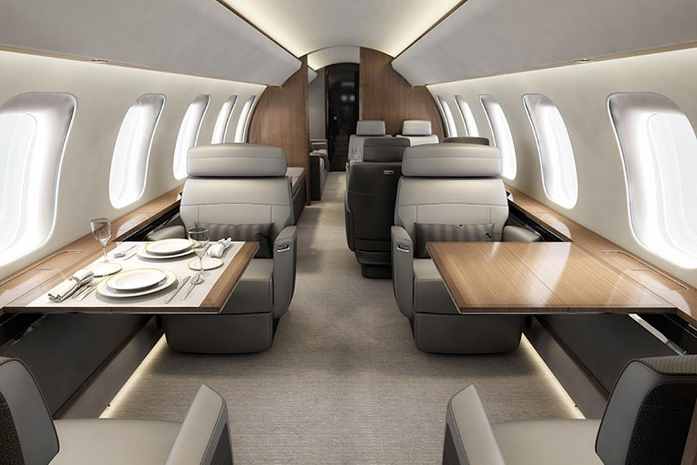 самолет Bombardier Global 8000